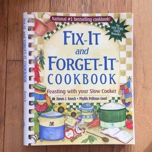 Cookbook-(slow cooker recipes Fix-it and Forget It